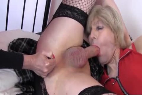 concupiscent Crossdresser hoes Love Sixtynine sucking large 10-Pounder Who Will cum First